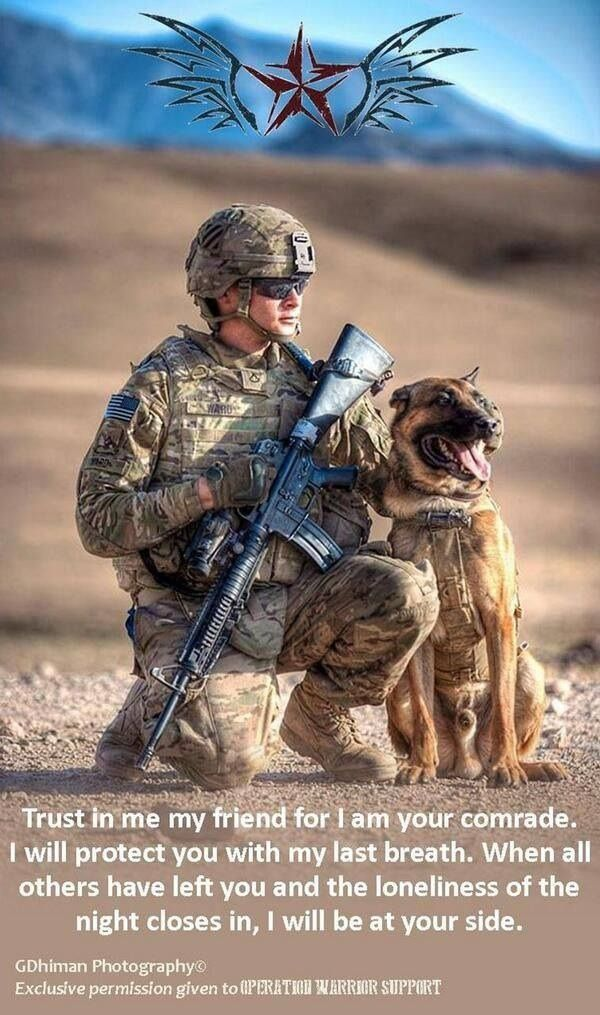 Working Dog Thank you, to all the brave people and canines, who serve and keep America safe. God Bless You ALL!Thank you, to all the brave people and canines, who serve and keep America safe. God Bless You ALL!
