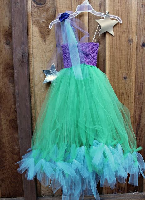 Make a No-Sew  Costume for $20 (Mermaid, Princess or Fairy)!