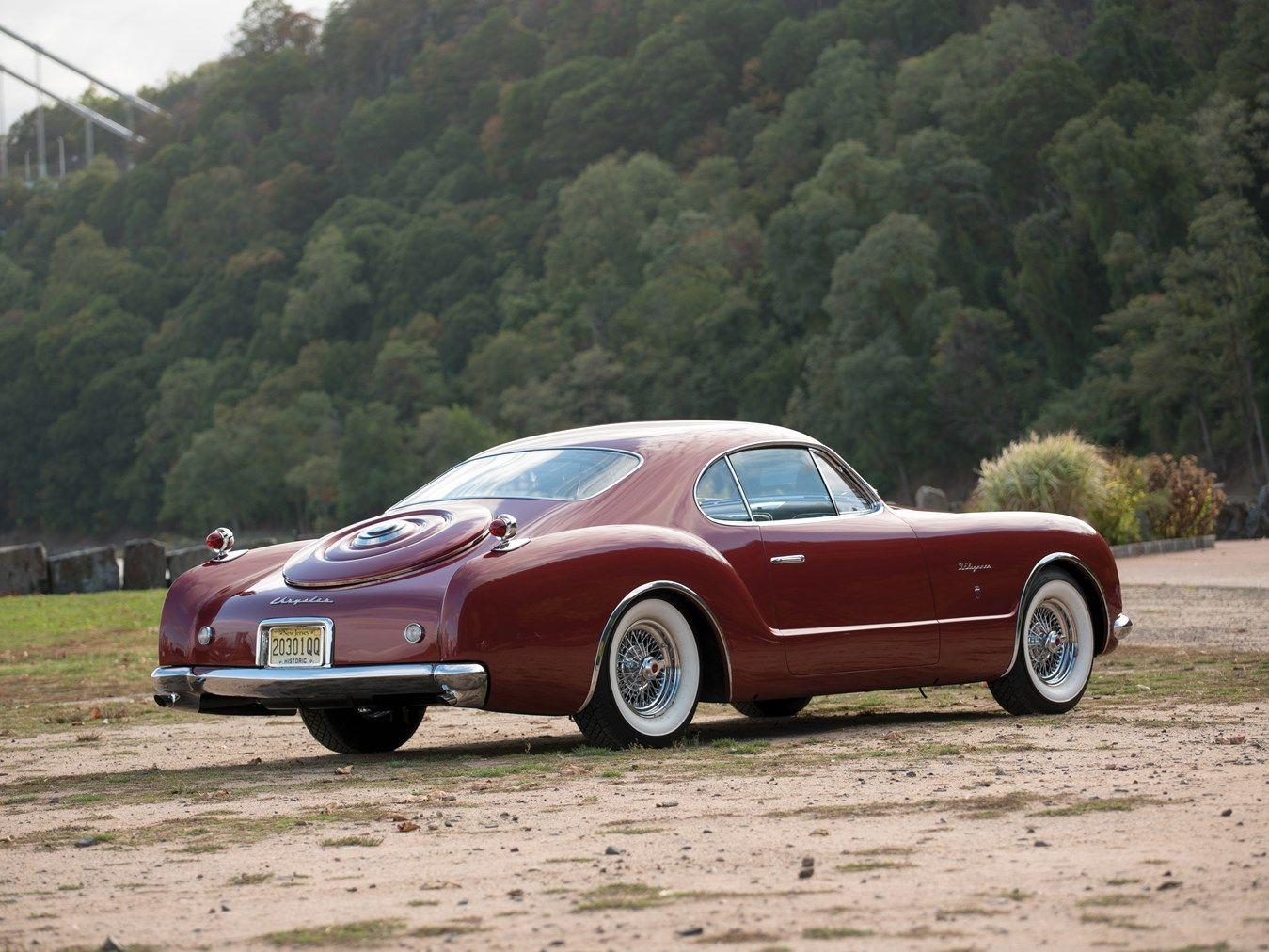 1952 Chrysler D\'Elegance by Ghia   Chrysler   Pinterest   Plymouth