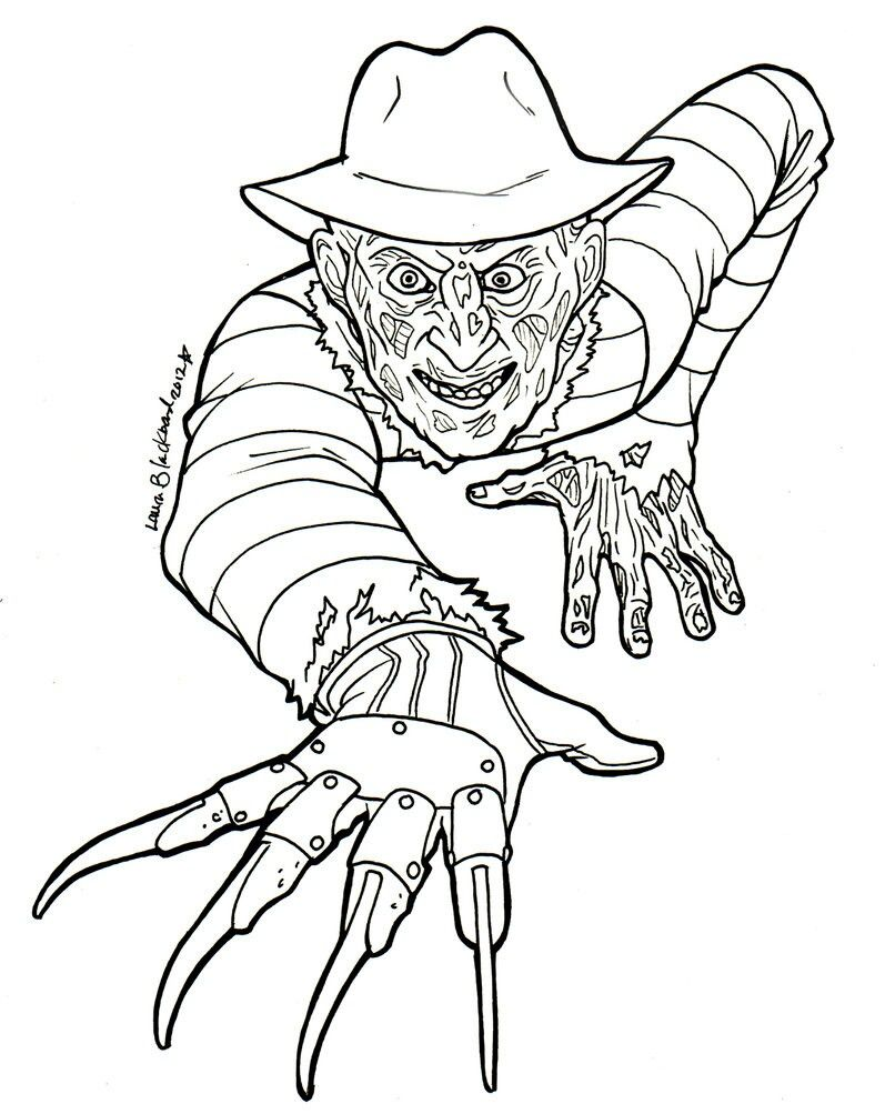 Pin by Krystal on drawings | Halloween coloring pages ...
