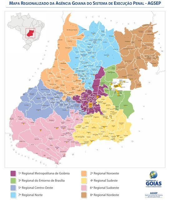 Mapa De Goias Para Imprimir Mapa De Goias Mapa Cidade De Goias