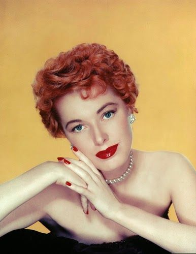 Eleanor Parker A Redhead
