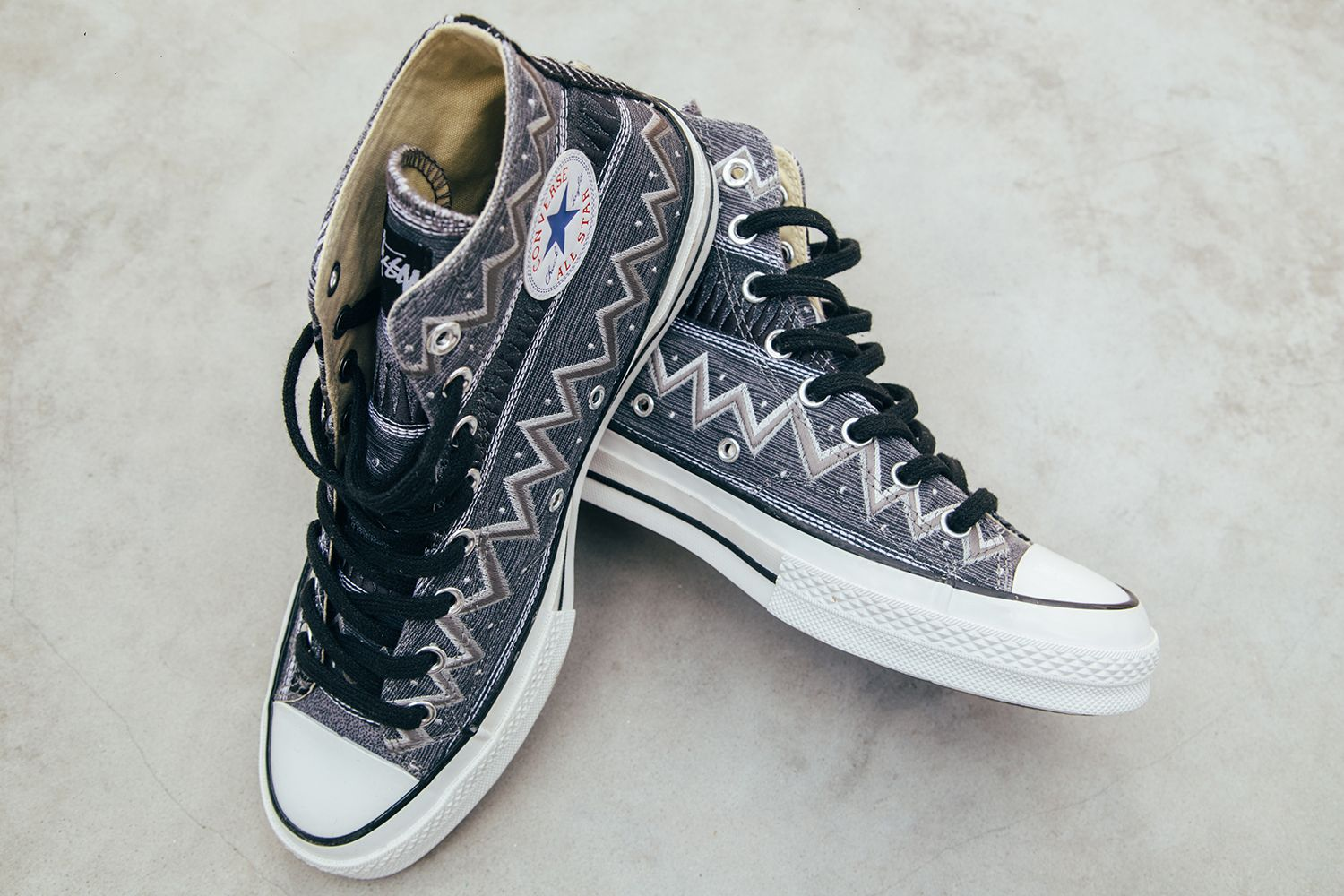 A Closer Look at the Stussy x Converse Chuck Taylor All Star  70  Stussy  35  Collection 56006b120