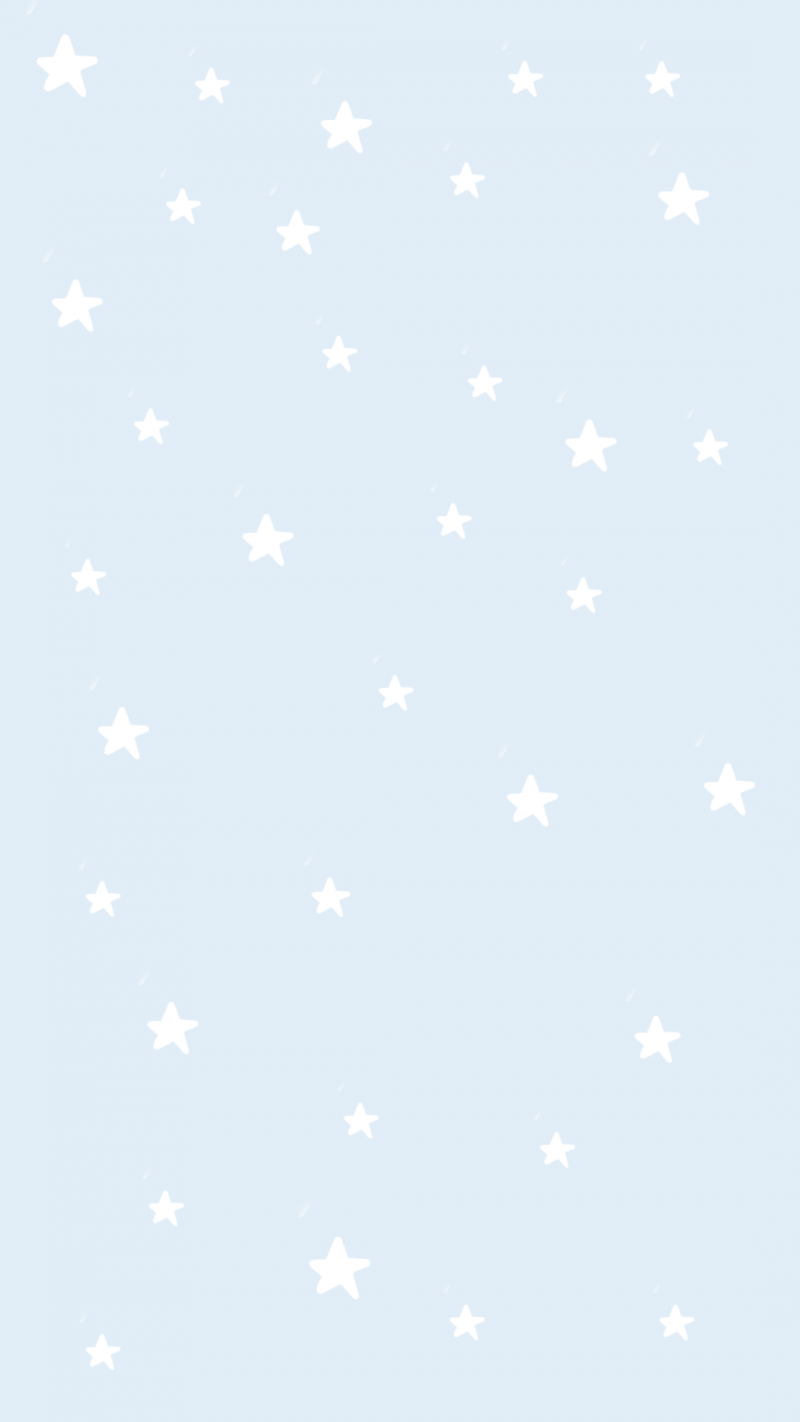 Aesthetic Blue Star Wallpaper