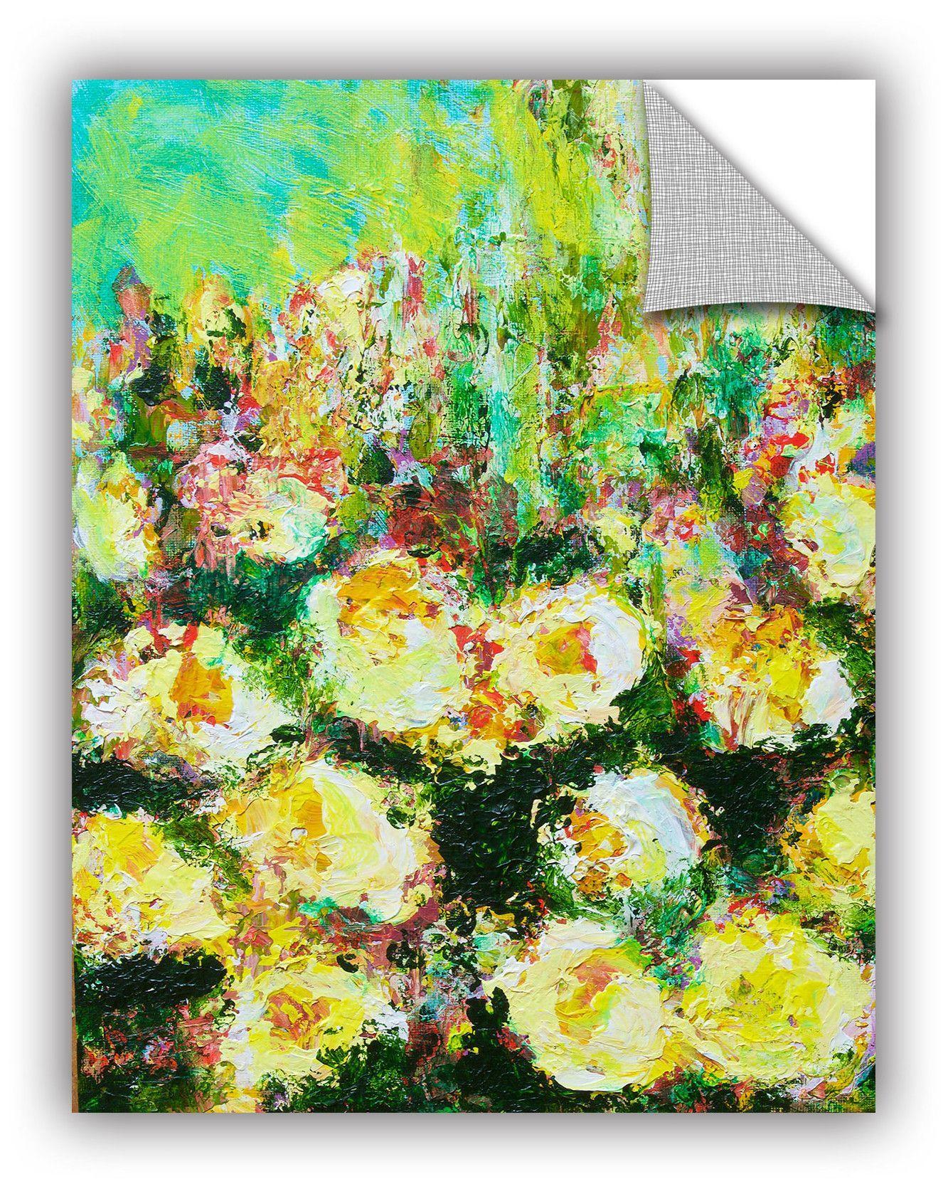 Berkeley rose garden wall mural wall murals rose and walls