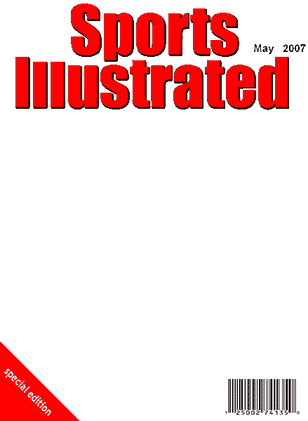 Sports Illustrated Blank Template Google Search Sports Illustrated Sports Illustrated Covers Templates