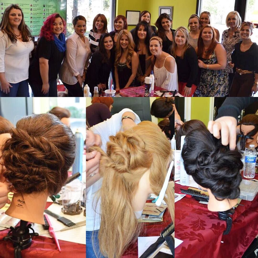 It's a wrap!  I can't THANK Orlando enough for a great end to my fall updo tour.  You were all amazing and talented. Keep up the good work.  Special thanks to Joyce @thesaloncenter  @neumabeauty @cionca and BigE for helping with this event. See you all in 2016 for more seminars and shows.  For the rest of 2015 I'll see you behind the chair at KellGrace Salon #parkave #salon #winterpark