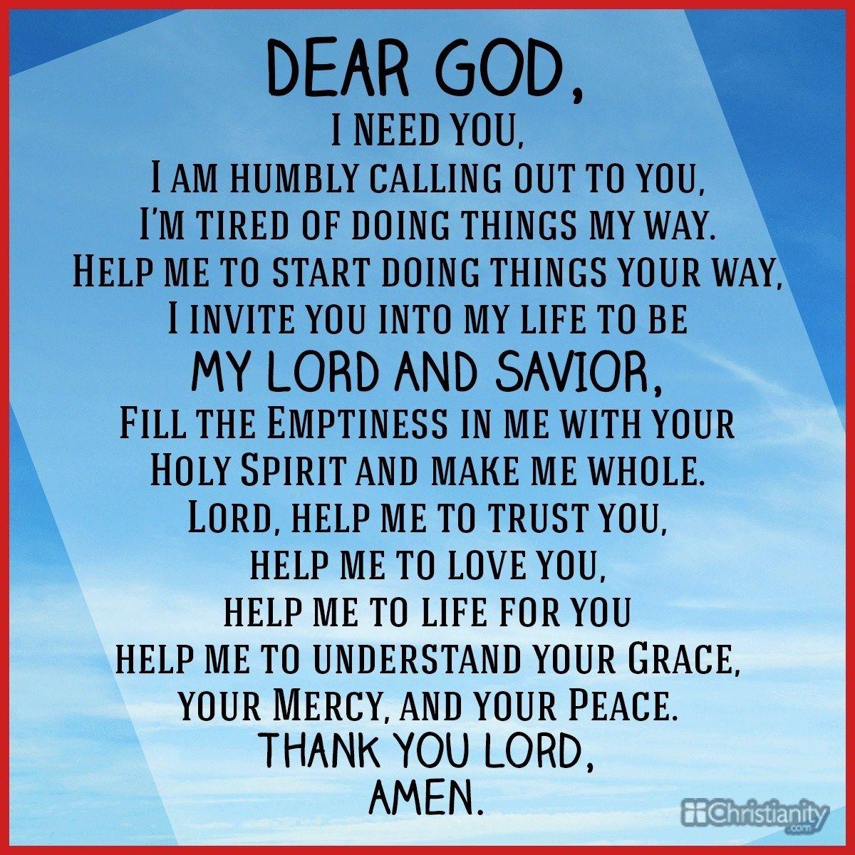 Living in the word prayer devotional for assurance of