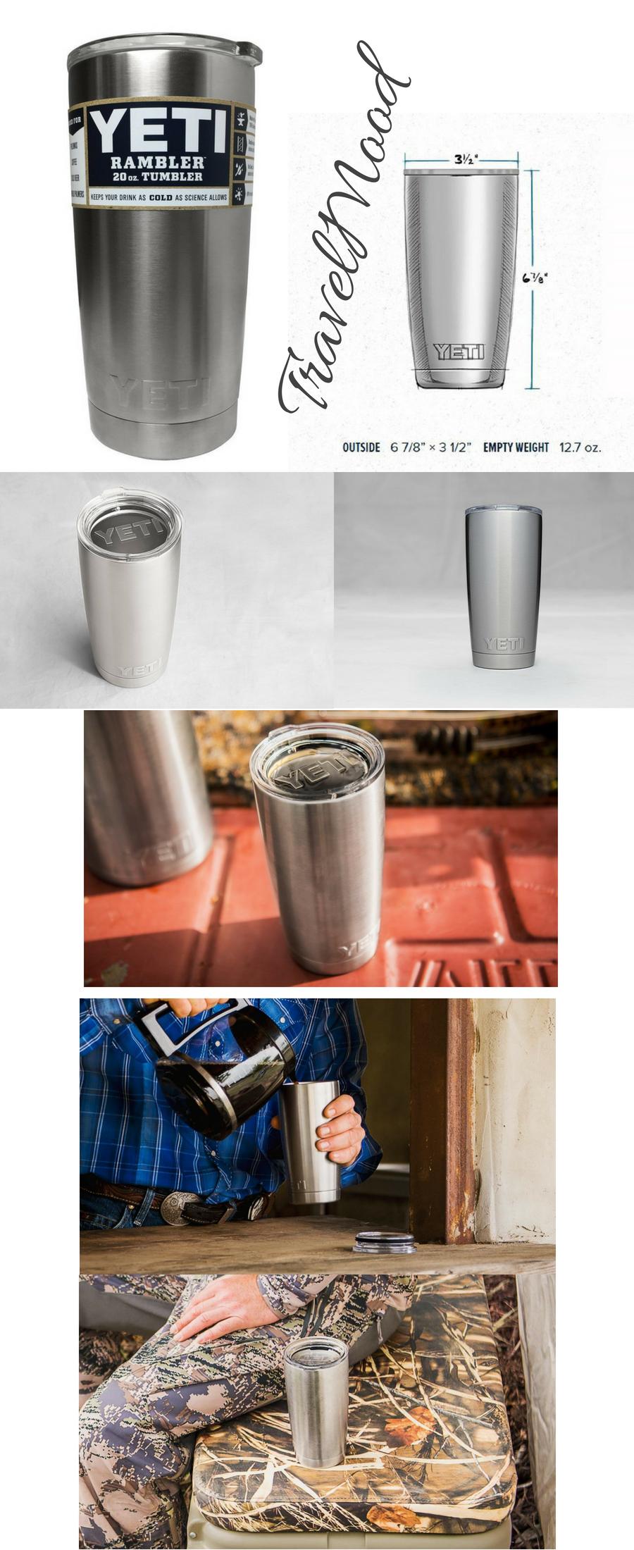 YETI Rambler 20 oz Stainless Steel Vacuum Insulated