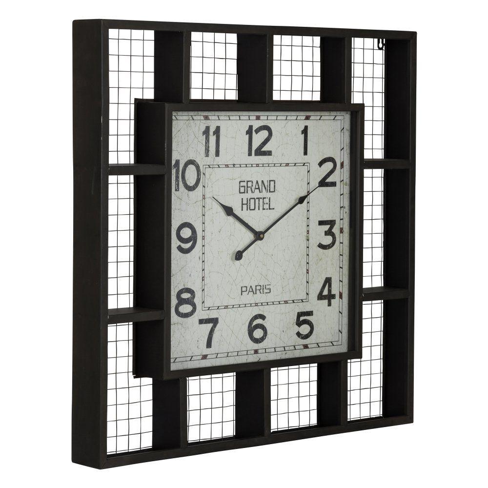 Cooper Classics Brianne Square Wall Clock 28w X 28h In Www Hayneedle Com Oversized Wall Clock Wall Clock Chic Wall Clock