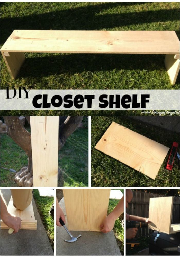 Merveilleux How To Make DIY Freestanding Shelves