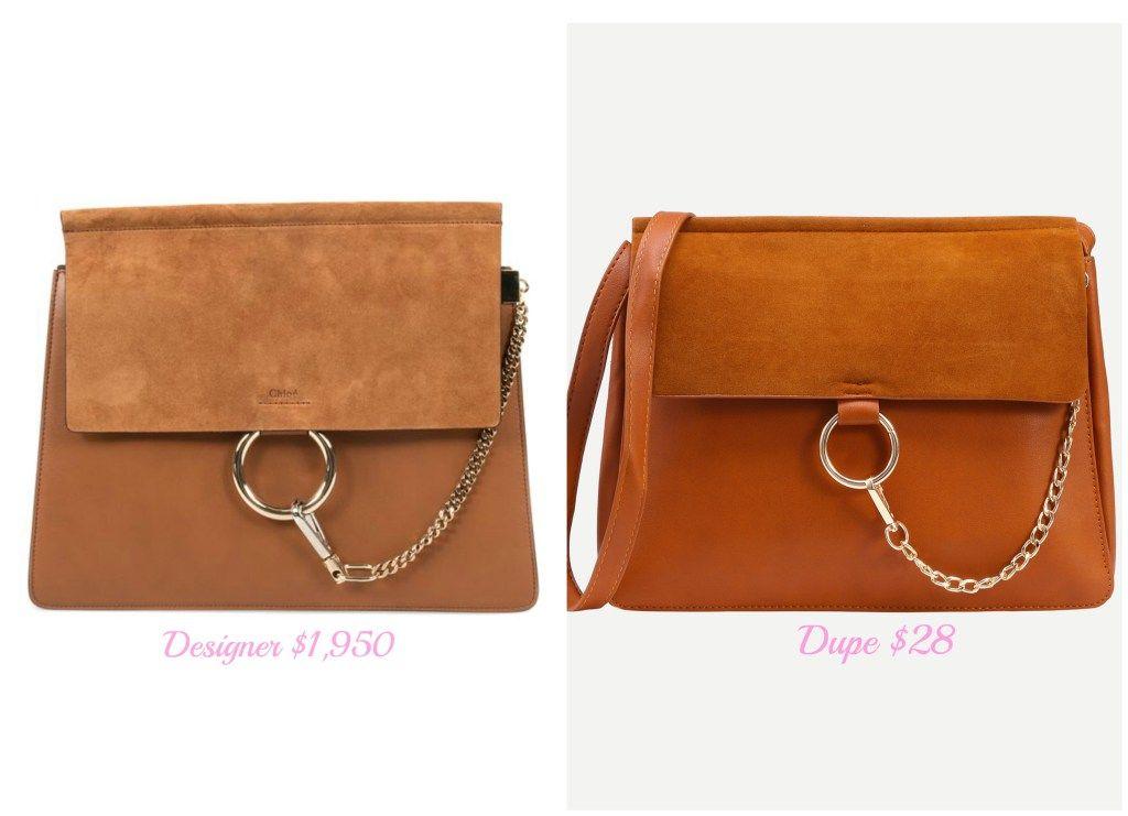 4d2290ba Best Handbag Dupes 2. Chloe Faye Medium Dupe. | Handbags & Purse ...
