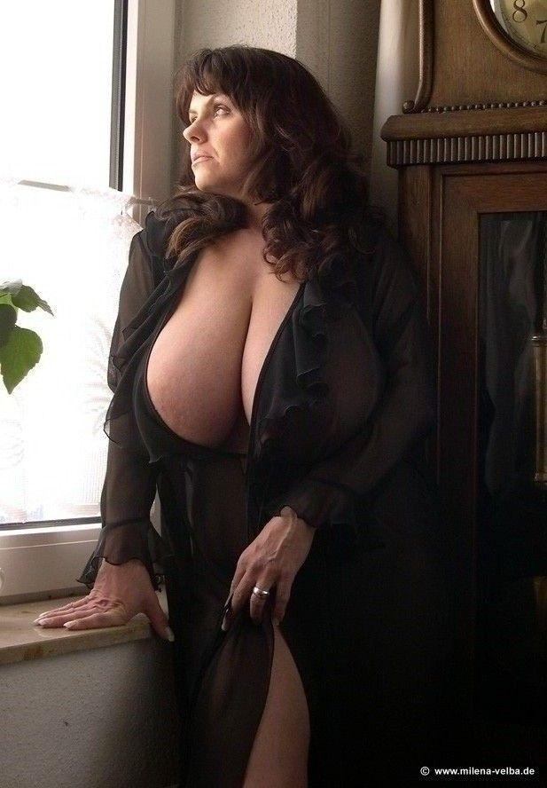Demure busty women