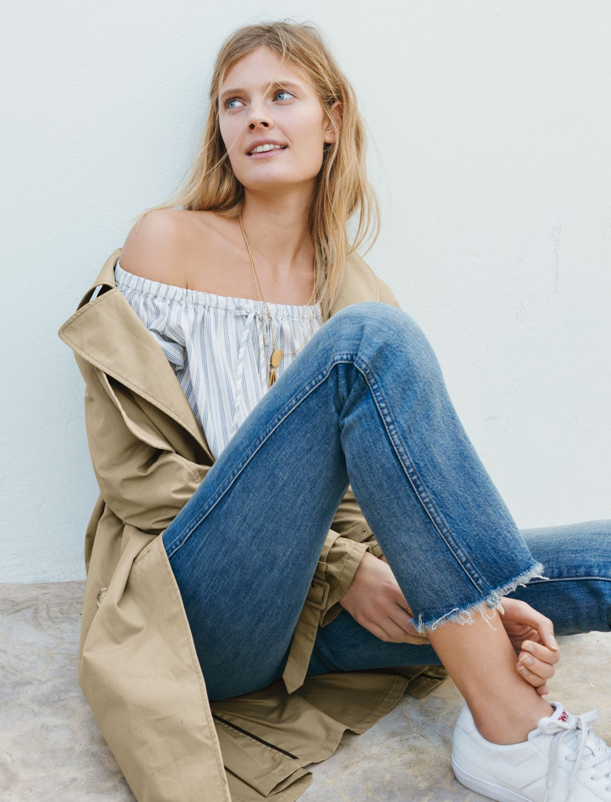 Off-duty womens clothing in madewell spring-summer