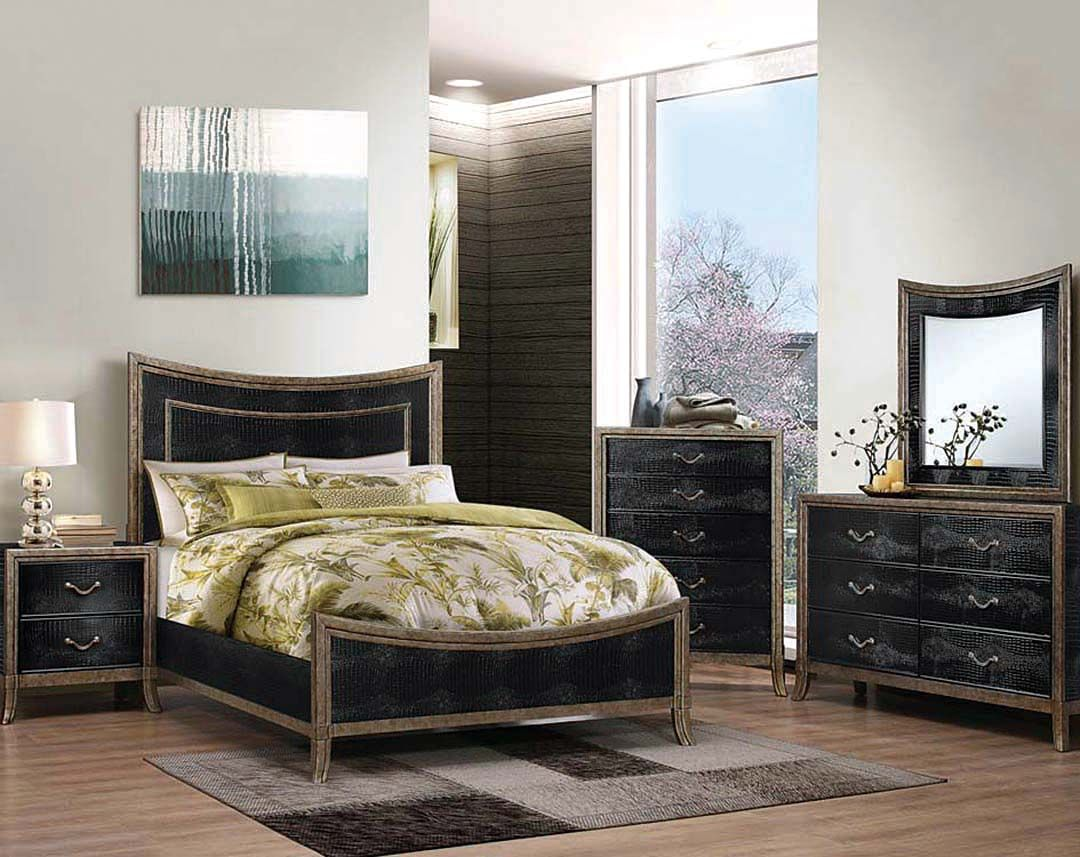 Textured Two Tone Simmons Bedroom Suite | San Juan Bedroom Set
