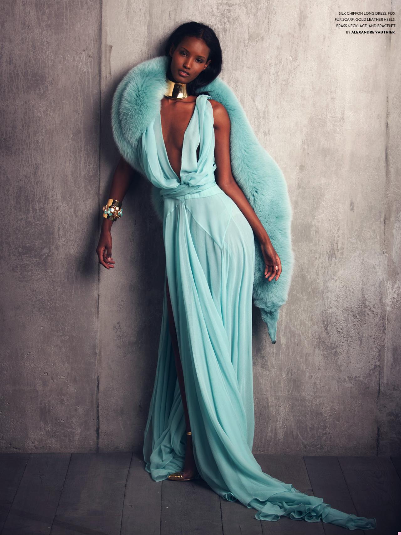 Fatima Siad is a Somali-Ethiopian top fashion model. She was born ...