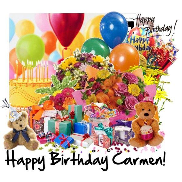 Happy birthday carmen brothers with love happy - Happy birthday carmen images ...