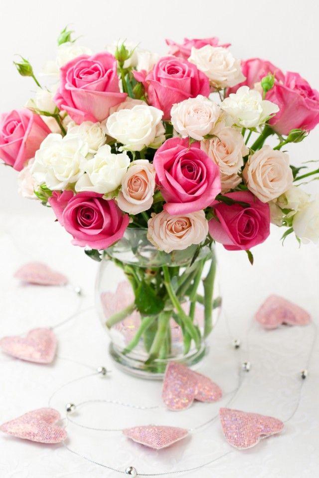 Home made flower arrangement for tables , ie Asda | Flowers ...