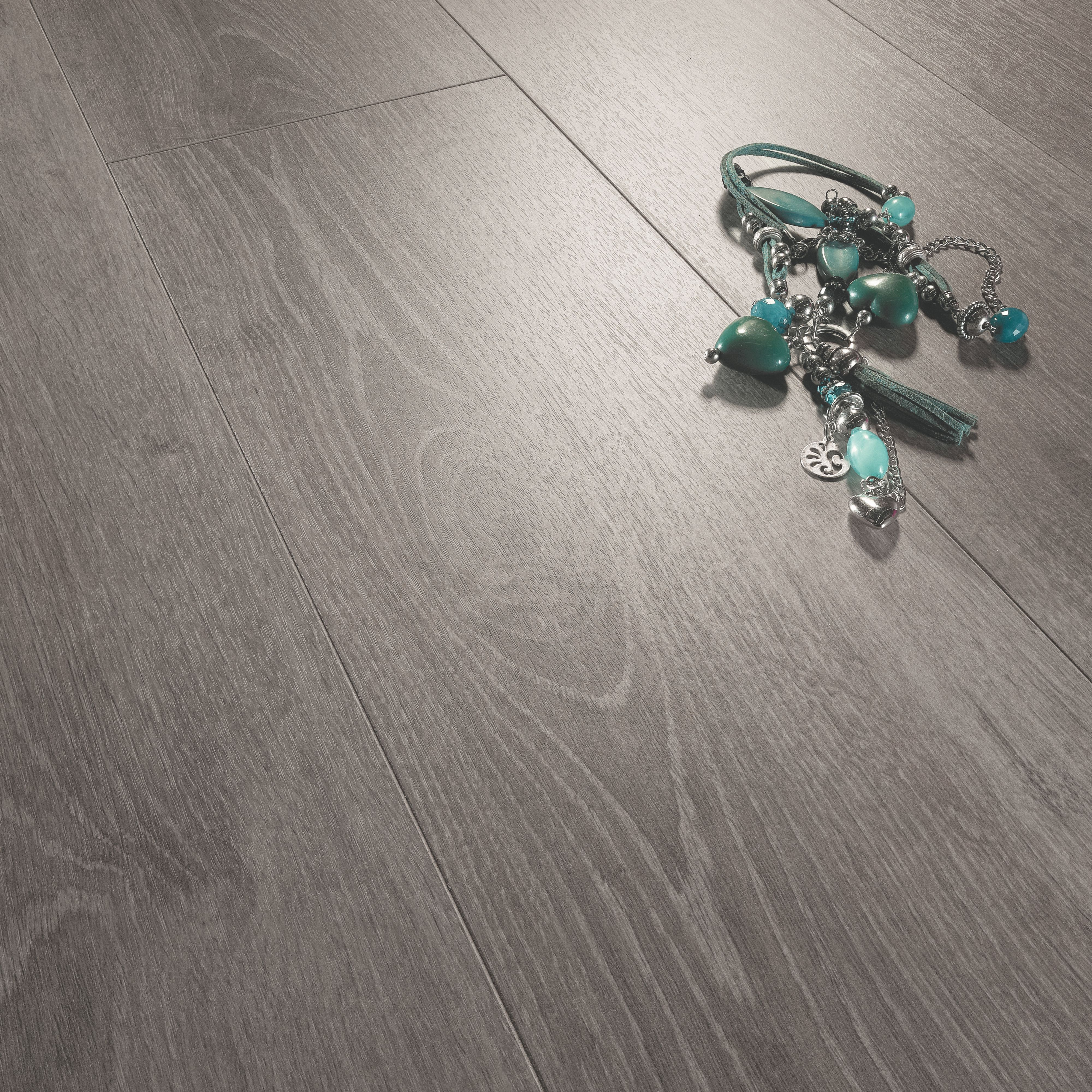 Colours Bodrum Grey Modern Stained Wood Effect Laminate Flooring 2 13 M² Departments Diy At