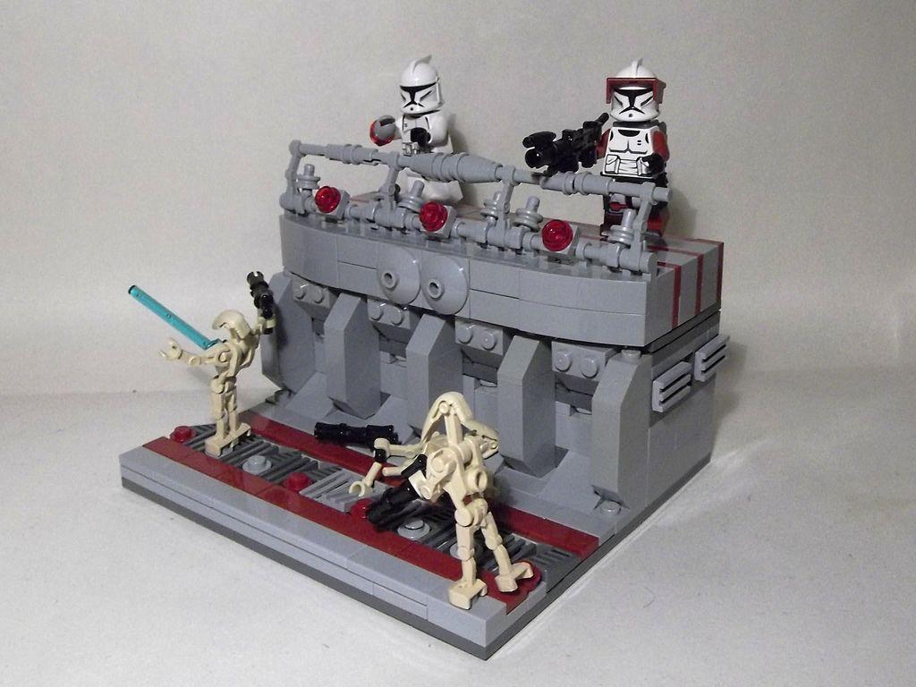 Lego Star Wars Clone Base Moc Google Search K Lego Lego Star