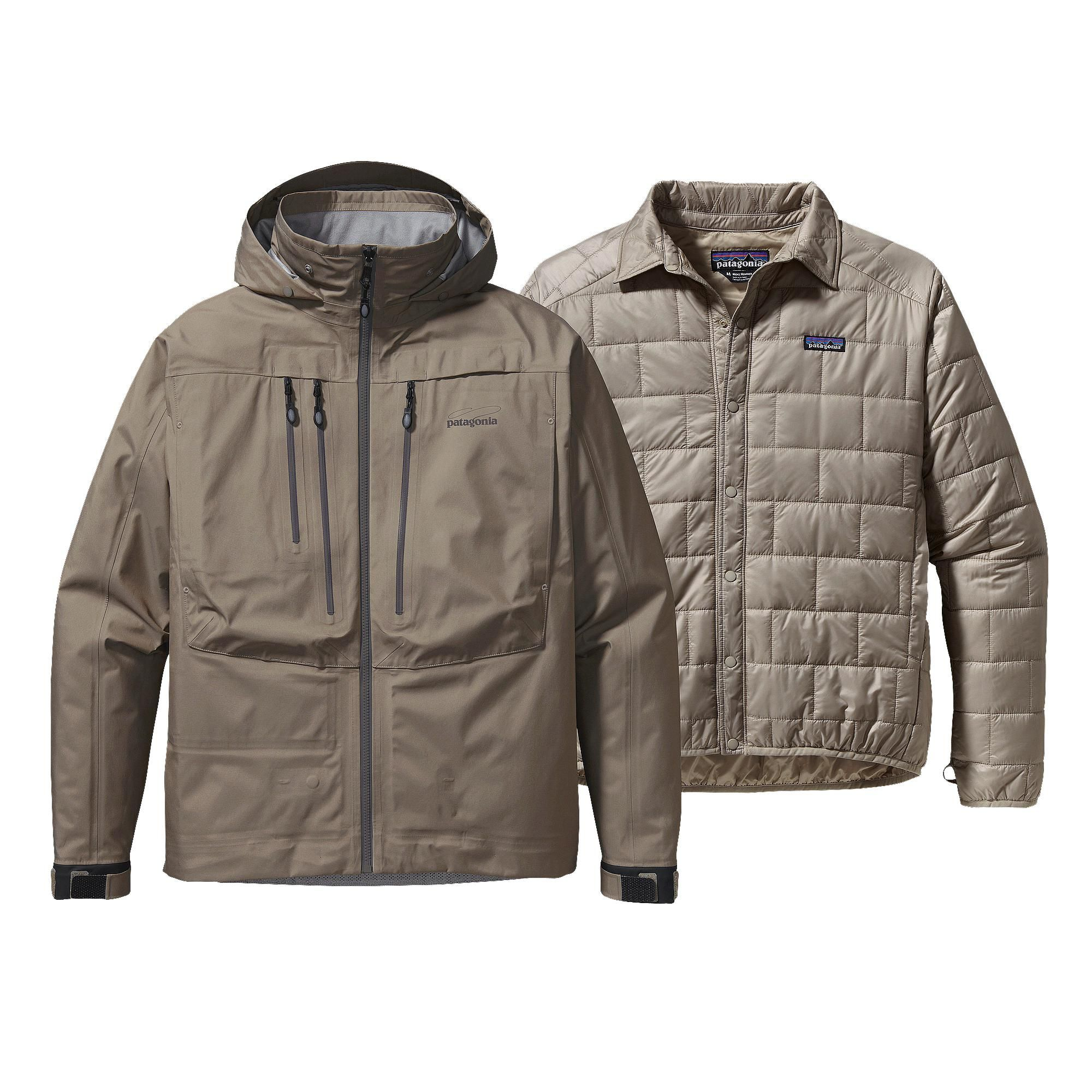 Patagonia 3 In 1 River Salt Jacket For Fly Fishing Fishing Jacket Mens Outdoor Clothing Jackets