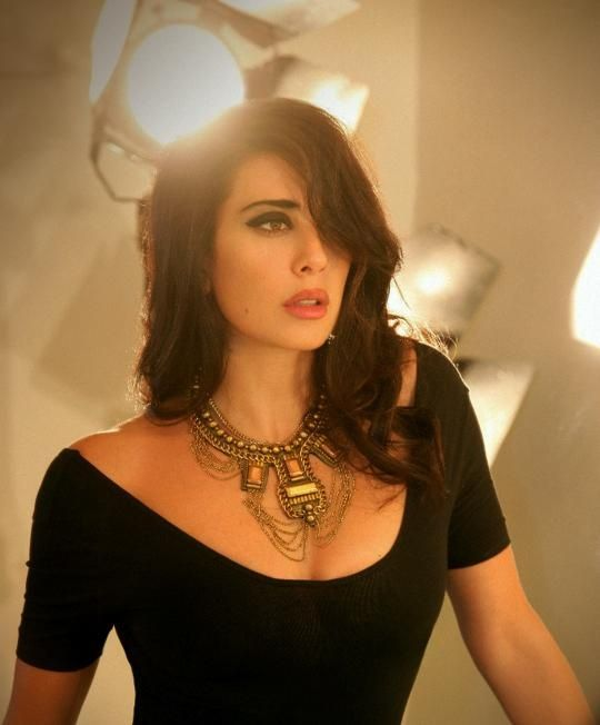 Nadine Labaki in a Photo Shoot