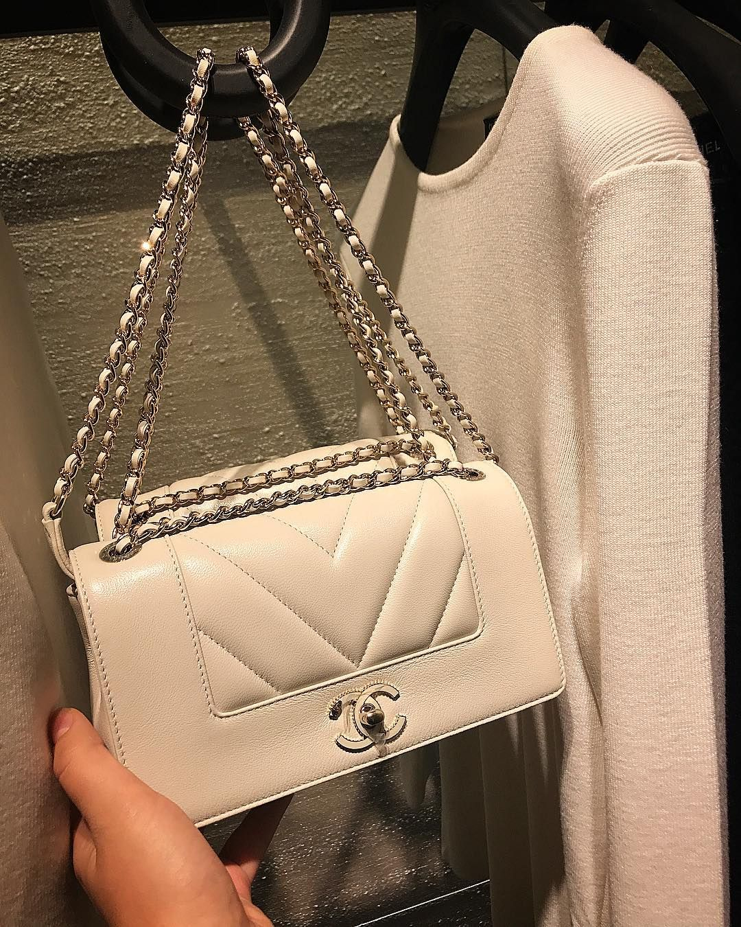 0cc24b05a00d Chanel Mademoiselle Vintage Chevron Bag | B A G A D D I C T ...