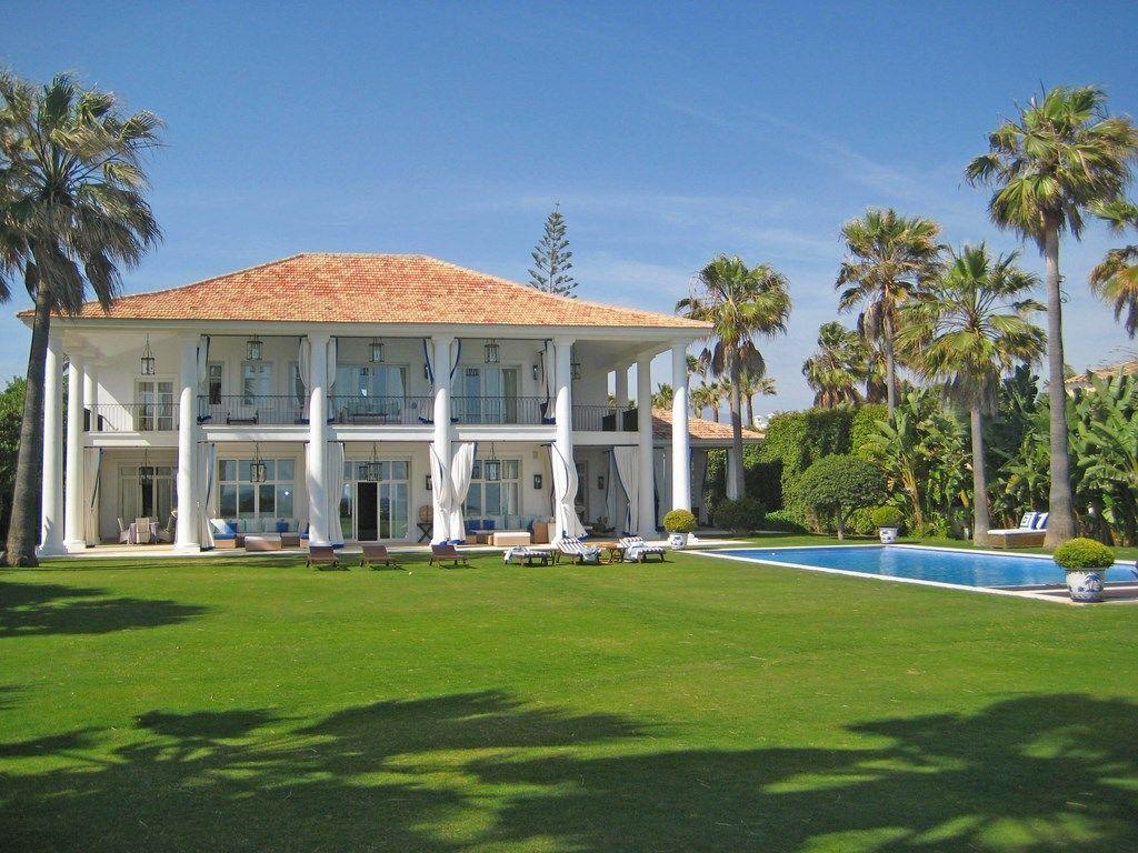 Stunning Beach Front Villa for sale near Marbella
