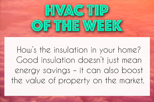 Improve the value of your home with insulation, and save