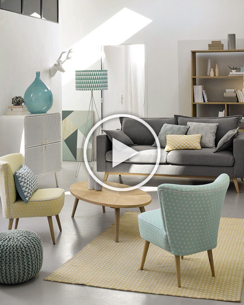 100 Génial Idées Deco Salon Vert Menthe