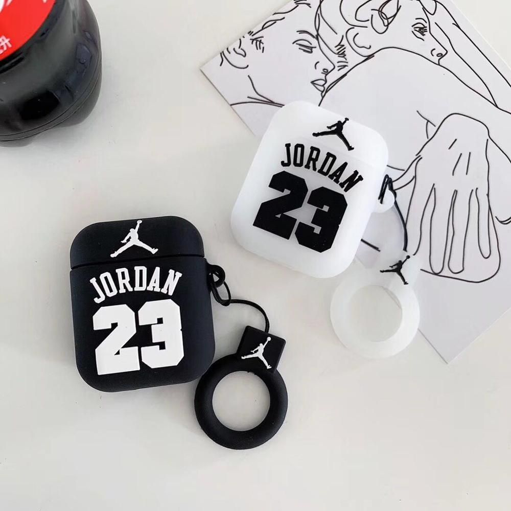 Jordan 23 Silicone Airpods Case Airpod Case Apple Cases