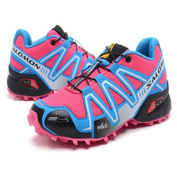 1f4af43e7c7 RSS Product Feed    Chaussures Salomon Femme Speedcross 3 Rose Cyan Bleu  Ciel Noir