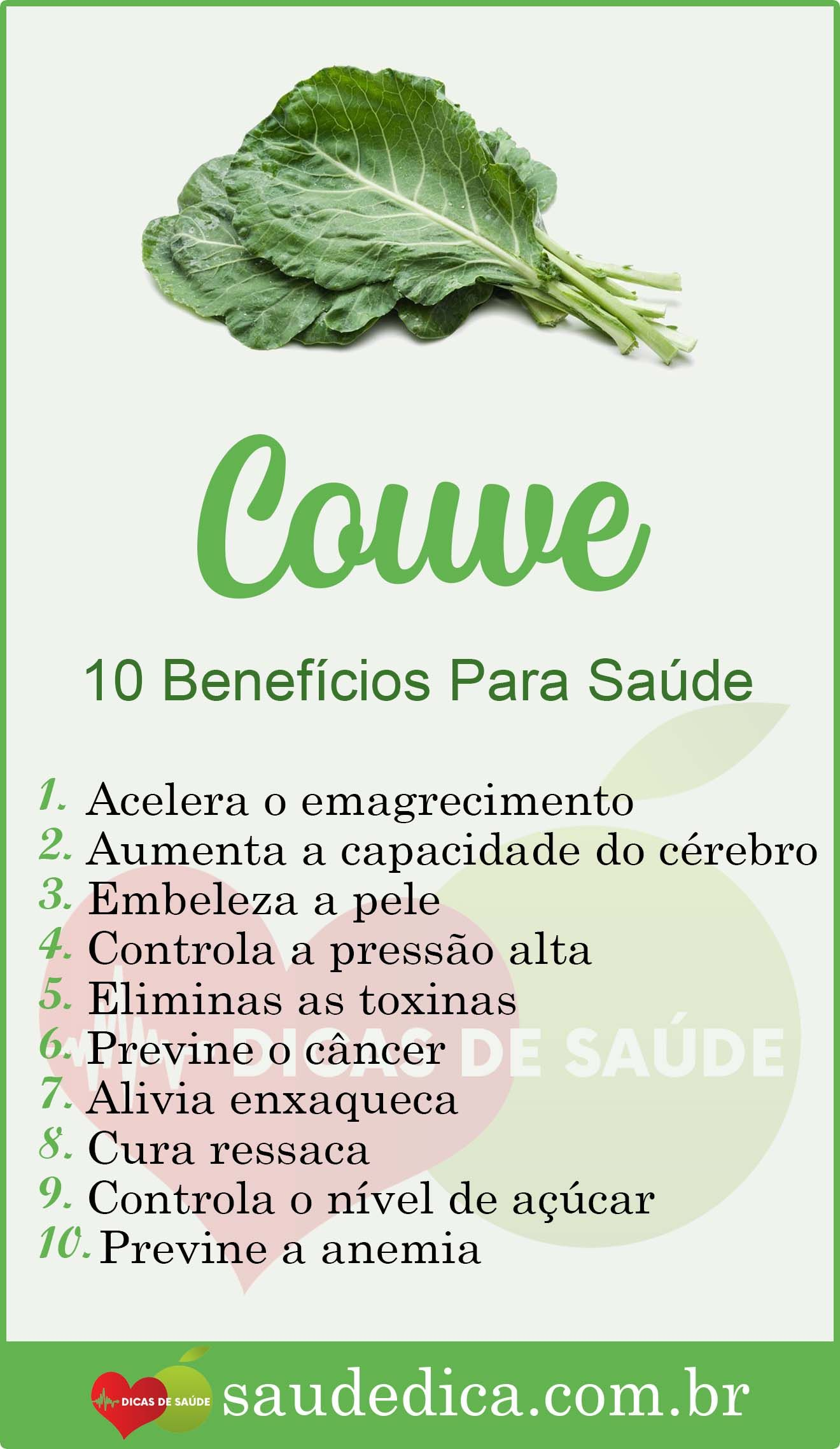 Os 15 Beneficios Do Couve Para Saude Couve Couvebeneficios