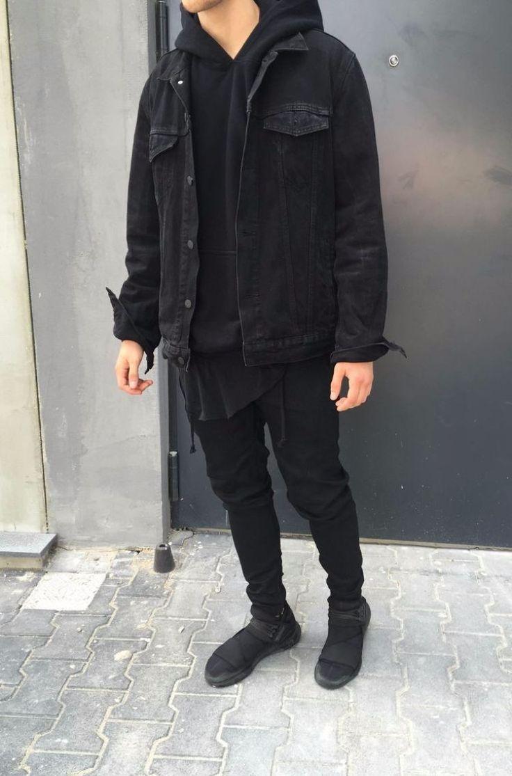 Photo of schöne-herbstoutfits-teenager-jungen-schwarz-jeansjacke – # schöneherbstoutfits …