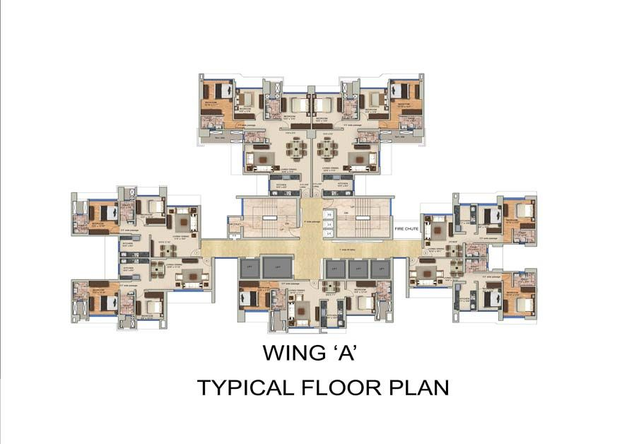 entrance lobby and reception with waiting plans for senior