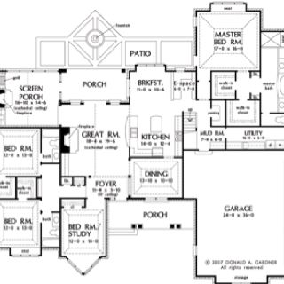 This Floor Plan Has Everything I Want Floor Plans How To Plan House Plans