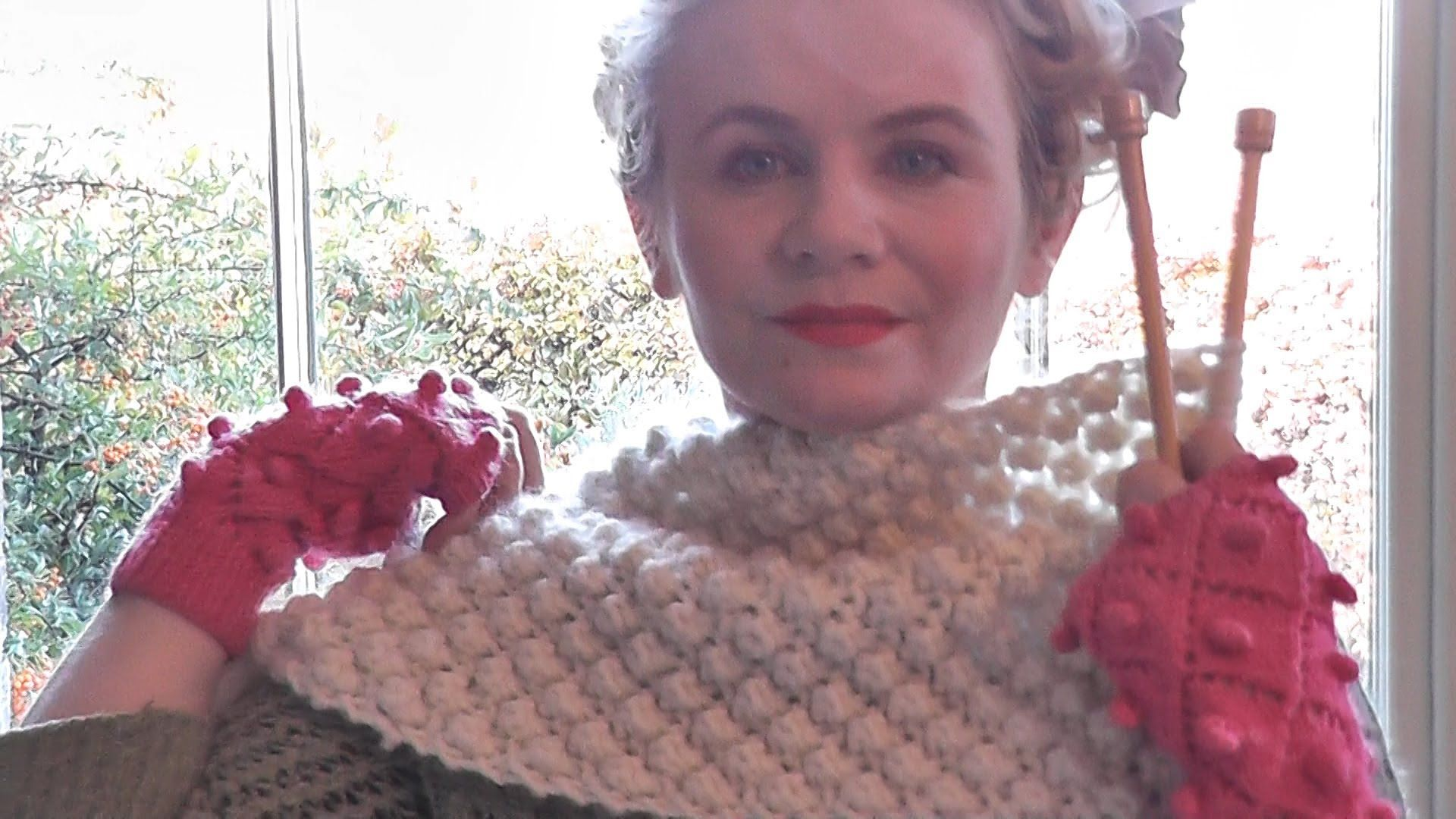 The Casting On Couch / Trinity Stitch Scarf - Beginners Edition ...