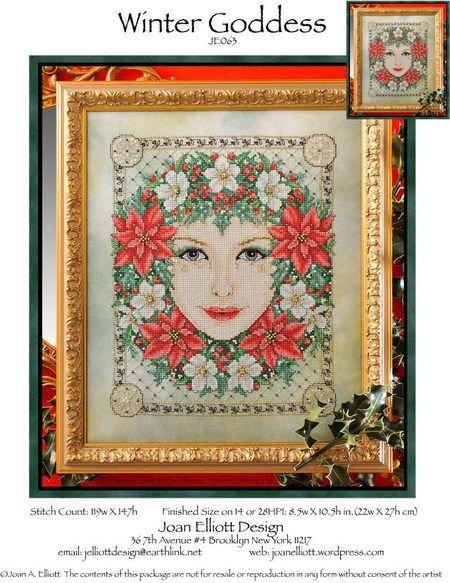 Winter Goddess by Joan Elliott Designs