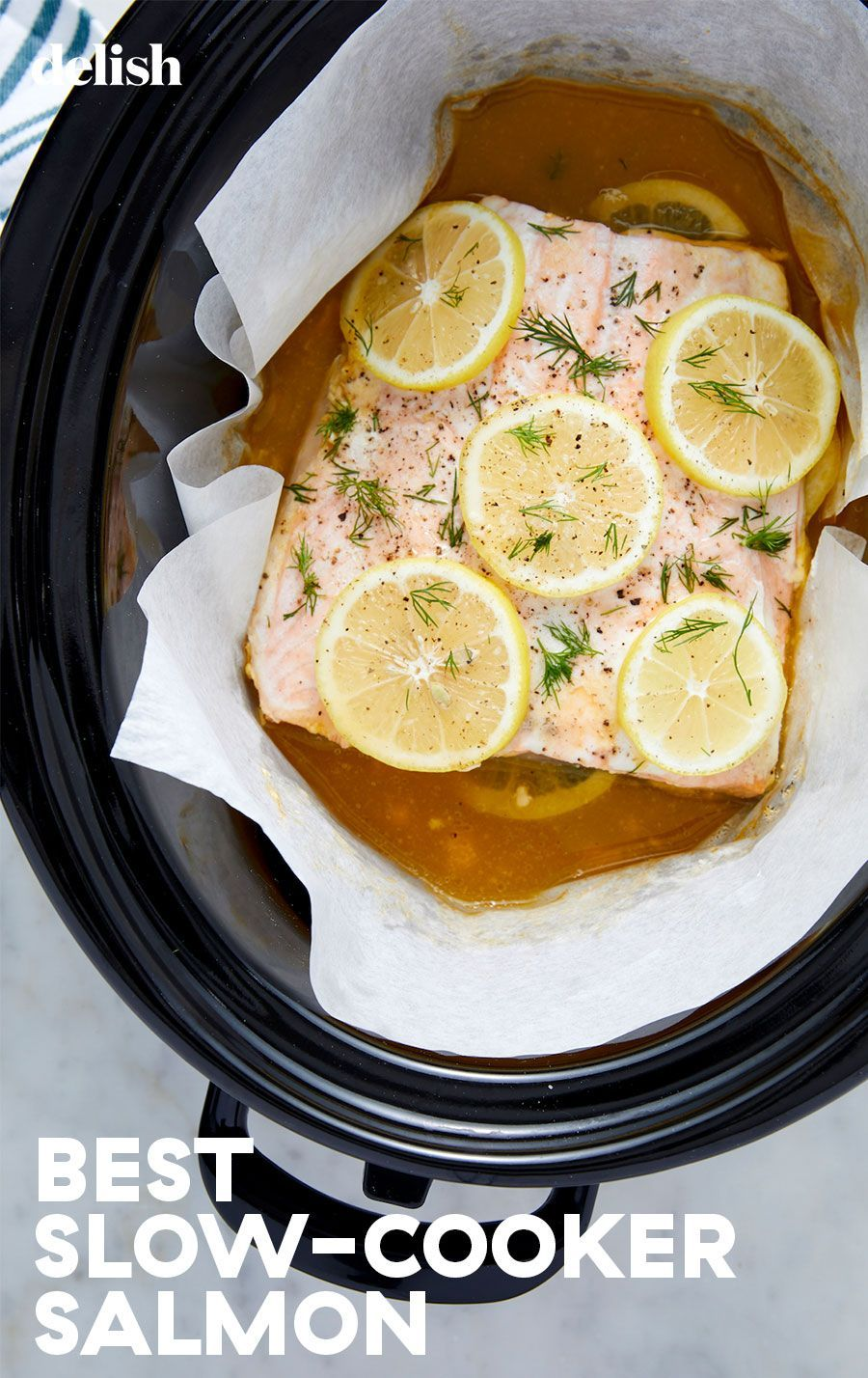 Psa You Can Make Amazing Salmon In Your Slow Cooker Recipe Crockpot Salmon Recipe Slow Cooker Salmon Crockpot Recipes Slow Cooker