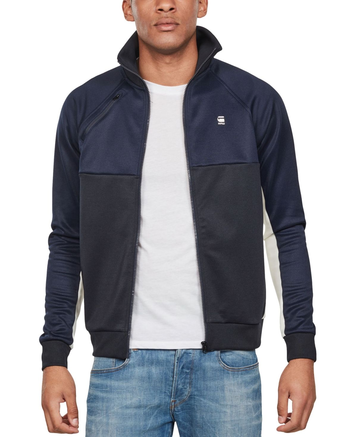G Star Raw Men's Ore Tracktop Raglan Jacket, Created for