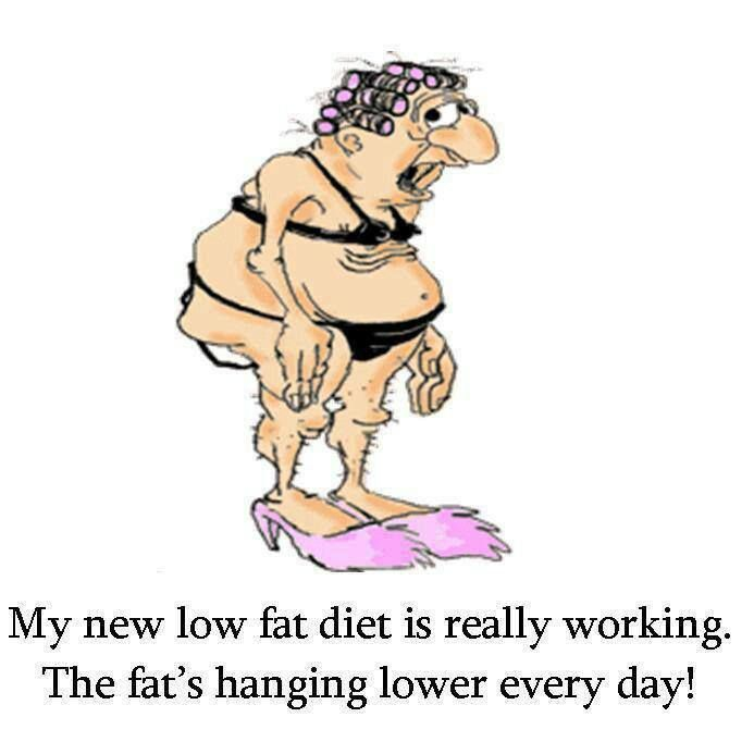 Health Funny My New Low Fat Diet Is Really Working The Fats Hanging