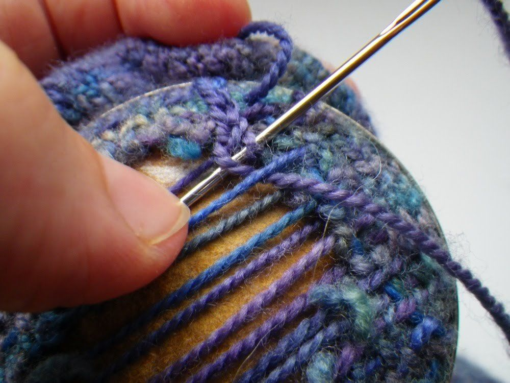Darning Tutorial Knitting tutorial, Knitting, Free sewing
