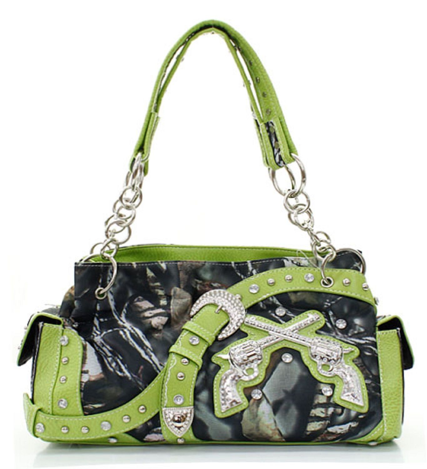 Lime Green Cowgirl Fashion Purse