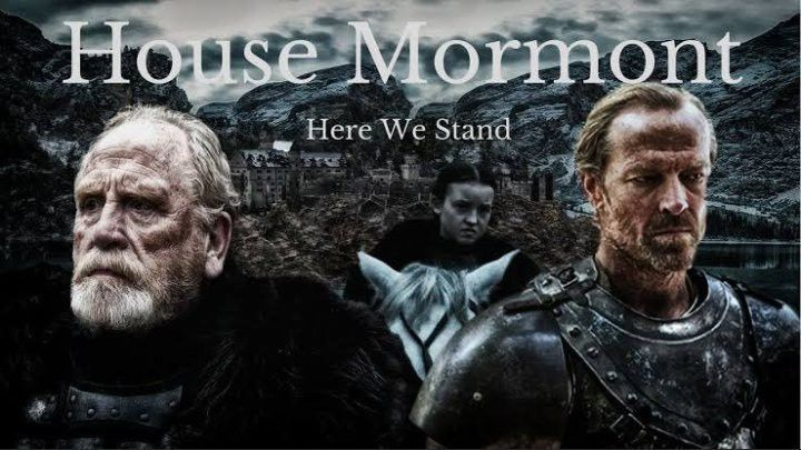 The Battle Of Winterfell House Mormont Winter Is Here Tribute