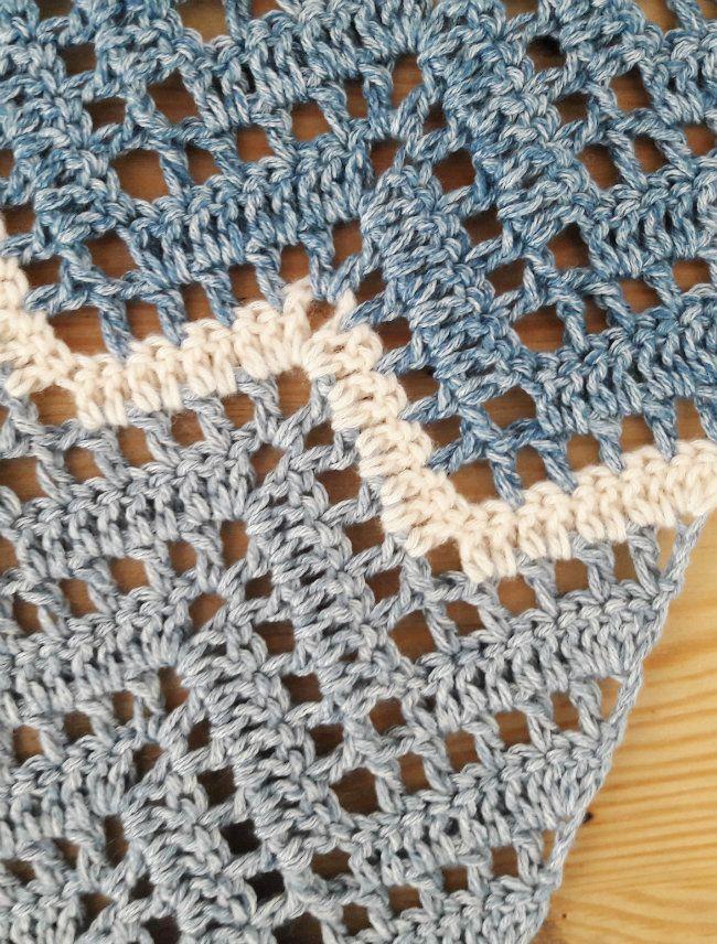 My Brand New Crochet Zig Zag Shawl Haken Pinterest Sjaal