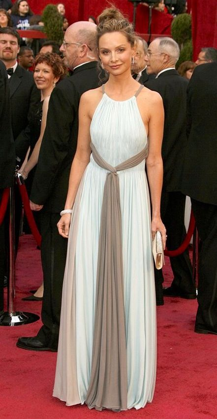 Calista Flockhart in Valentino (80th Academy Awards) | Calista ...