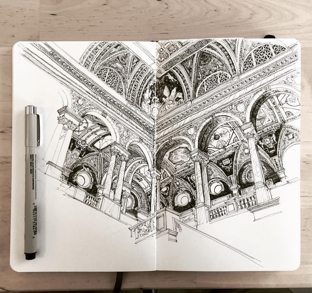 1011Drawings — #tbt | Libraries are the best | #1011drawings...