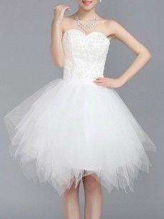 Fashionmia womens white cocktail dresses - Fashionmia.com