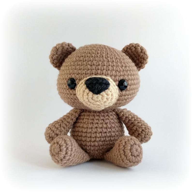CROCHET PATTERN: Teddy Bear Amigurumi Pattern / Written in English, Easy To Follow Instructions, Beginner Friendly Project