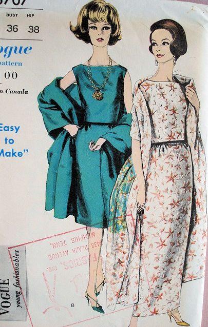 2f9f469f7d8 1960 elegant evening 2 pc dress